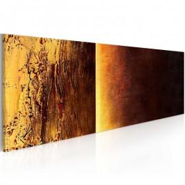 Quadro pintado à mão - Duas texturas
