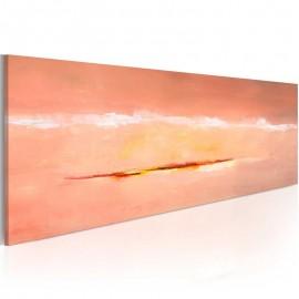 Cuadro pintado - Amanecer abstracción