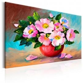 Cuadro pintado - Spring Bunch