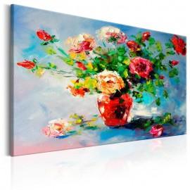 Cuadro pintado - Beautiful Roses