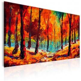 Quadro pintado à mão - Artistic Autumn