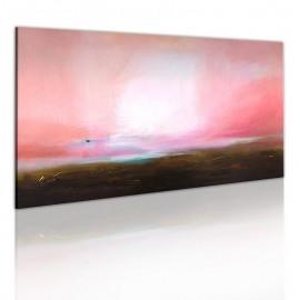 Cuadro pintado - Horizonte distante