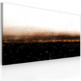 Cuadro pintado - Black soil (Abstraction)