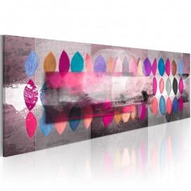 Cuadro pintado - Paleta de colores