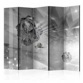 Biombo - Abstract Greyness II [Room Dividers]