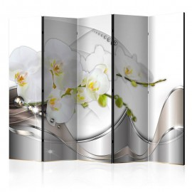 Biombo - Pearl Dance of Orchids II [Room Dividers]