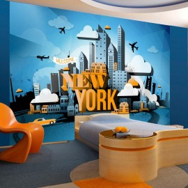 Fotomural - New York - welcome