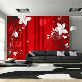 Fotomural - Flowering scarlet