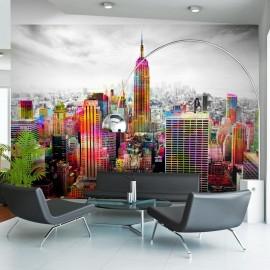 Fotomural - Colors of New York City II