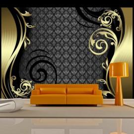 Fotomural - Detrás de la cortina dorada