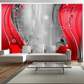 Fotomural - Detrás de la cortina roja