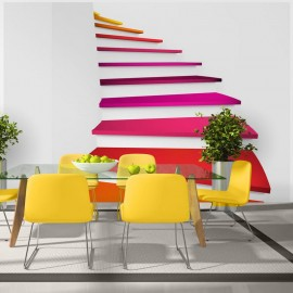 Fotomural - Colorful stairs