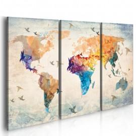 Cuadro - Free as a bird - triptych
