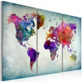 Cuadro - Mundo de colores