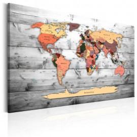 Quadro - World Map: New Directions