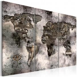 Cuadro - Mapa iridiscente