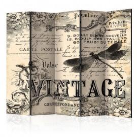 Biombo - Vintage Correspondence II [Room Dividers]