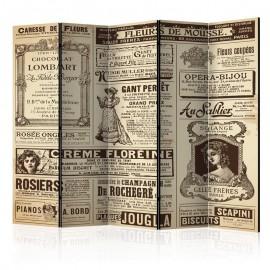 Biombo - Vintage Magazines II [Room Dividers]