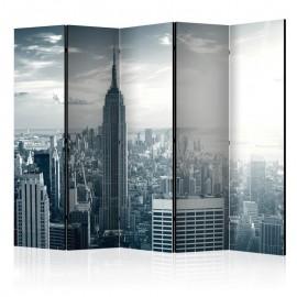 Biombo - Amazing view to New York Manhattan at sunrise II [Room Dividers]