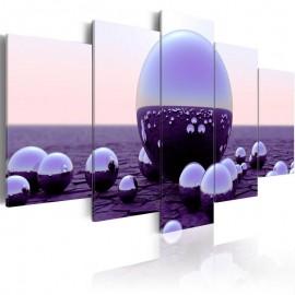Cuadro - Purple Balls