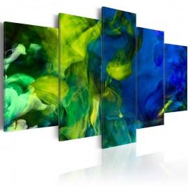 Quadro - Dance of Green Flames