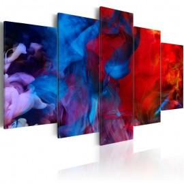 Quadro - Dance of Colourful Flames