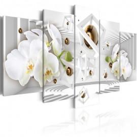 Cuadro - Templo de blanco