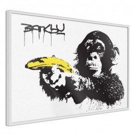 Póster - Banksy: Banana Gun I