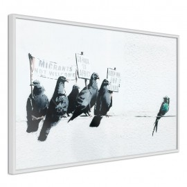 Póster - Banksy: Pigeons