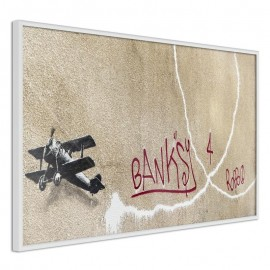 Póster - Banksy: Love Plane