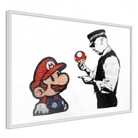 Póster - Banksy: Mario and Copper