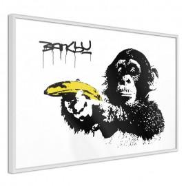 Póster - Banksy: Banana Gun II