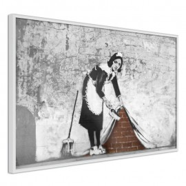Póster - Banksy: Sweep it Under the Carpet
