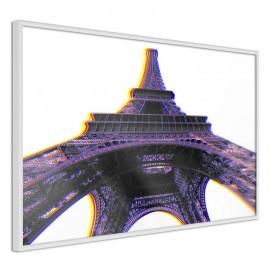 Pôster - Symbol of Paris (Purple)