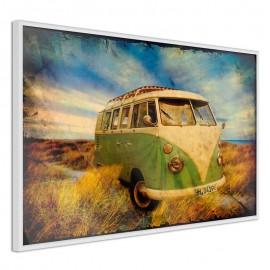 Póster - Hippie Van I