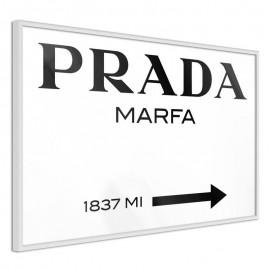 Pôster - Prada (White)