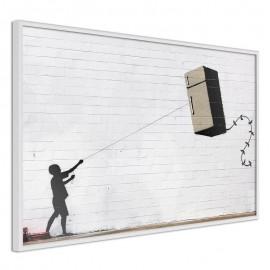 Póster - Banksy: Fridge Kite