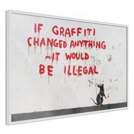 Póster - Banksy: If Graffiti Changed Anything