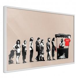 Póster - Banksy: Festival