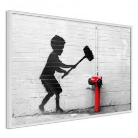 Póster - Banksy: Hammer Boy