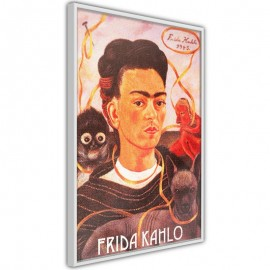 Póster - Frida Khalo – Self-Portrait