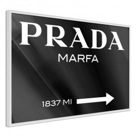 Pôster - Prada (Black)