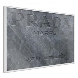 Pôster - Prada (Grey)