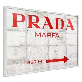Pôster - Prada (Red)