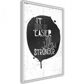 Póster - It Doesn't Get Easier
