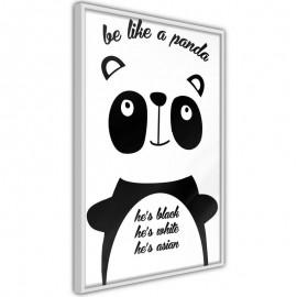 Pôster - Tolerant Panda