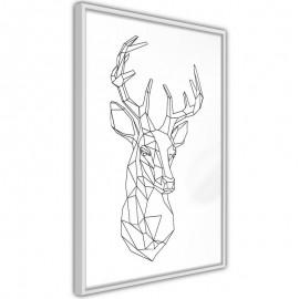 Póster - Minimalist Deer