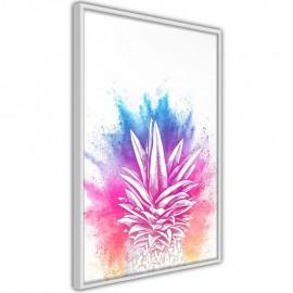 Póster - Rainbow Pineapple Crown