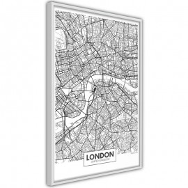 Pôster - City Map: London