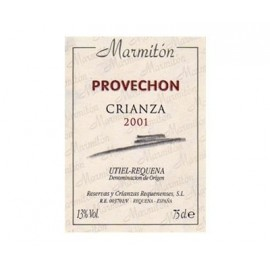 Vino Provechón MarmitónCrianza 2001 Tinto 75 Cl.